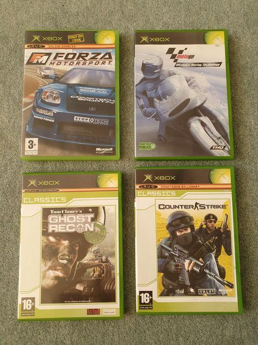 Xbox Classic FORZA Motorsport, Moto GP, Counter Strike, Ghost Recon Warszawa - image 1