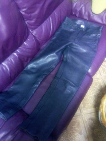 Кожаные штаны унисекс