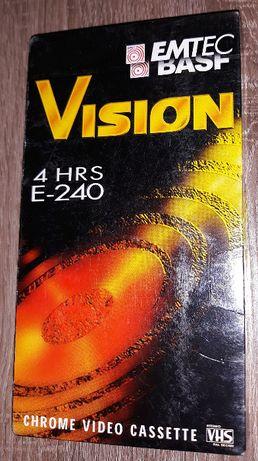 EMTEC BASF - czysta zafoliowana kaseta video - VHS - 4HRS E-240
