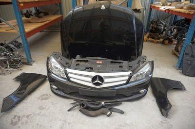 Mercedes w204 фара бампер капот крыло дверь акпп двигатель