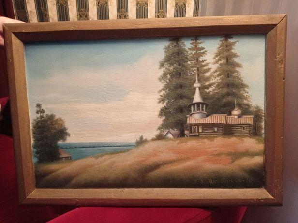 Картина, Холст, краски. 62см х 43см