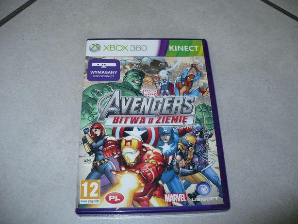 Marvel Avengers,,Bitwa o ziemię''na Xbox 360