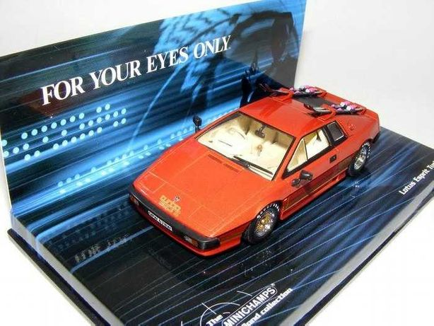 Lotus Esprit Turbo 007 James Bond - Miniatura Minichamps 1/43