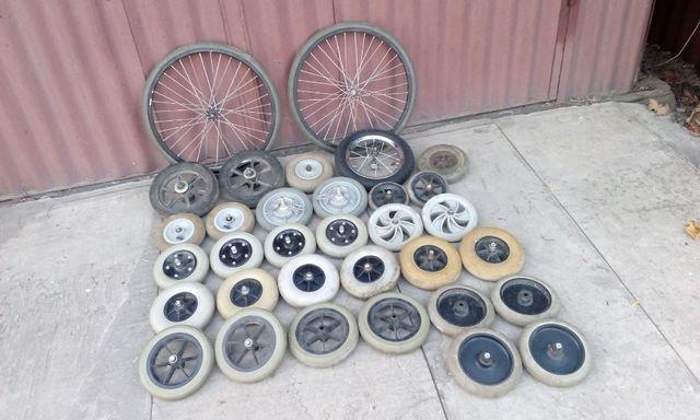 Колеса для тачки, тележки, коляски, візочка