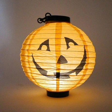 Фонарик на Halloween тыква Хеллоуин декор