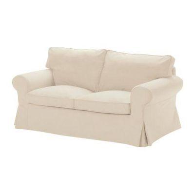 Capa sofá Ikea Ektorp 2 lugares bege