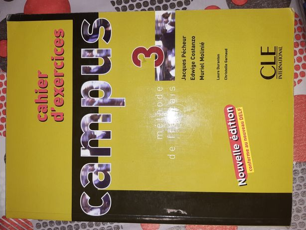 Campus 3 cahier d'exercices zeszyt ćwiczeń