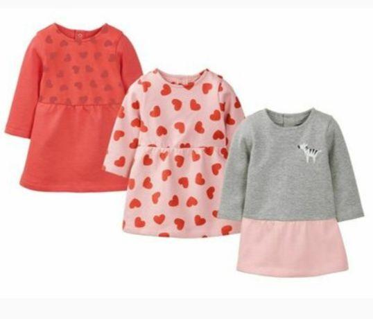 Платье детское теплое Lupilu Германия