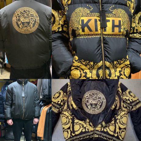 Продам чоловічу куртку Versace/ мужской пуховик/ мужская куртка