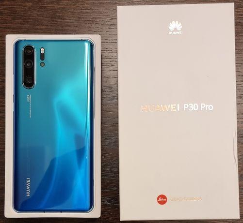 Huawei P30 Pro 256GB Aurora Niebieski -stan idealny-gwarancja