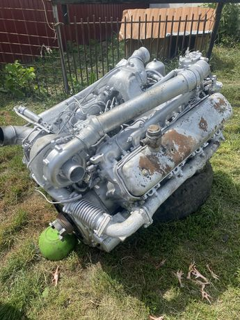 Двигун ямз 238 з турбіною і інтеркулером