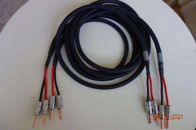 Ultra Top HIGH END kable głośn. 2,50 mm2 / 2 x 3,0m wtyki miedz