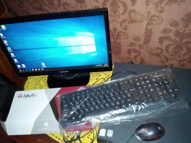 "Lenovo пк+philips 19""монитор"