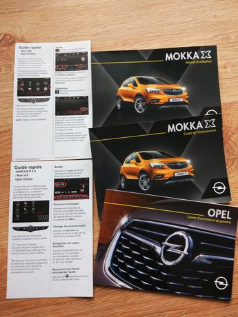 Książki opel mokka x