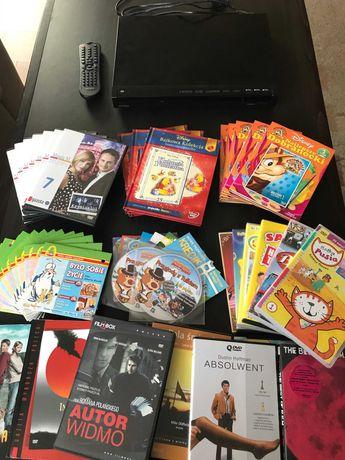 WIWA - odtwarzacz DVD plus zestaw bajek i filmów