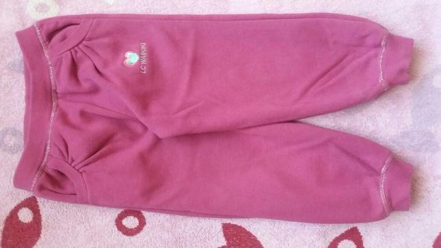 Штаны штанишки на баечке для девочки