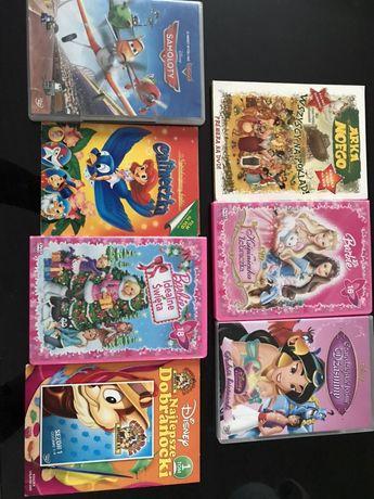 Bajki na dvd dla dzieci Barbie i inne