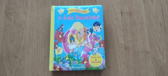 Livro Puzzle A Gata Borralheira