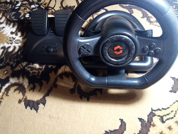 Руль SPEEDLINK BLACK Racing wheel