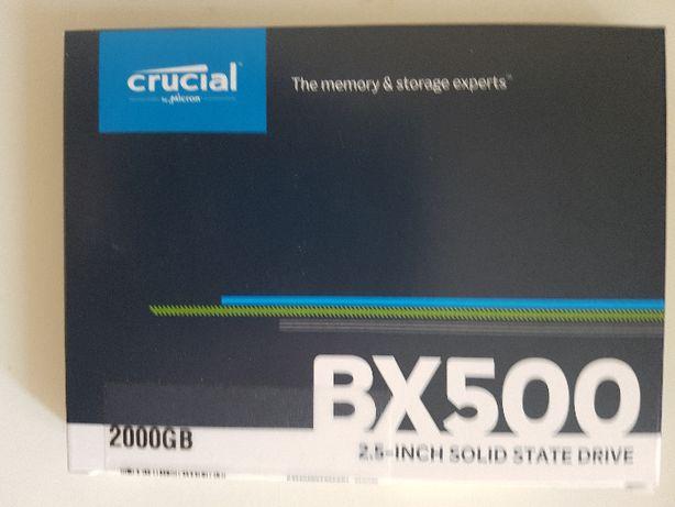 Okazja!Nowy,zapakowany dysk SSD 2tb- Crucial BX 500-inne SSD-1TB,512gb