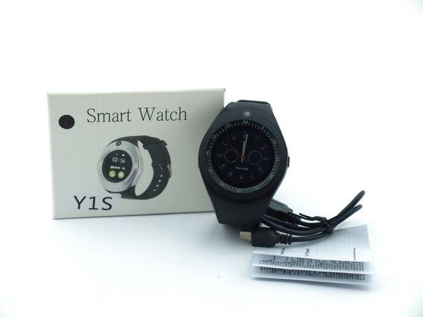 Smart Watch Y1S Sport смарт часы с микрофоном, Smart Watch, черные