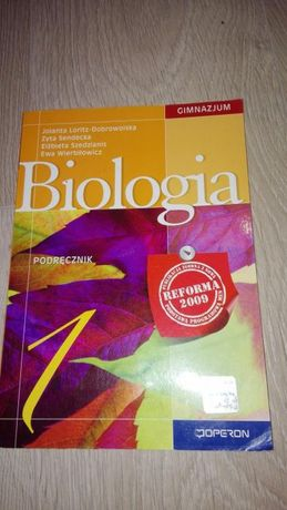 Biologia operon 1 - podręcznik do gimnazjum