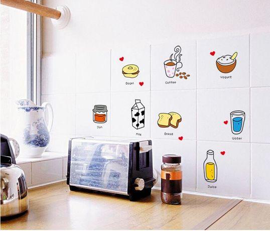 Naklejki ścienne na ścianę do kuchni WS-0147