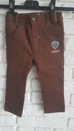 Nowe eleganckie spodnie r.80
