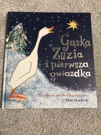 Gąska Zuzia i pierwsza gwiazdka.