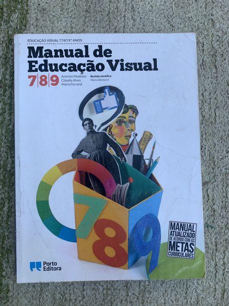 Manual Escolar de Educação Visual 7º,8º e 9º ano