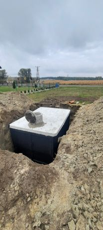 Szamba Szambo Zbiornik betonowy