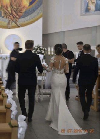 Suknia ślubna madonna vanessa milla nova czyszczona 34 xs 32 xxs