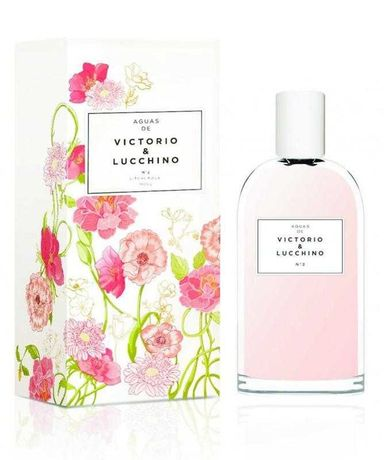 Туалетная вода aguas de victorio & lucchino №2 rosa fresca парфюм духи
