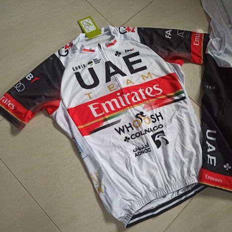 UEA Team Emirates koszulka + spodenki XL 24h