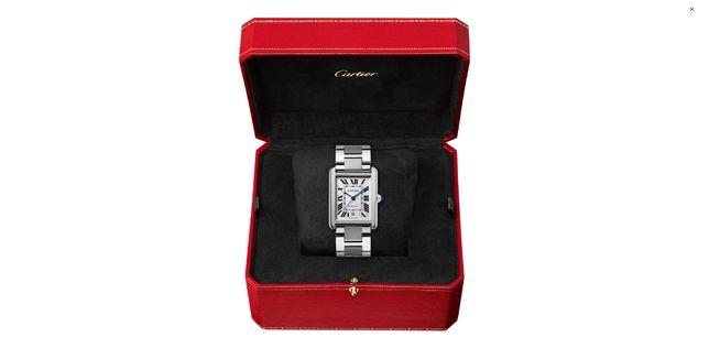 Мужские часы Cartier Tank