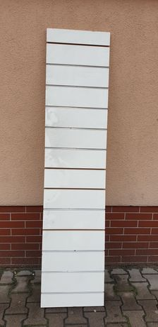Panel ścienny biały.