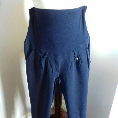 Długie spodnie bawełniane ciążowe Happy mum