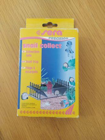 Armadilha para caracóis de aquario sera