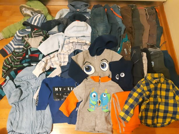 Ubrania dla chłopca 80-86