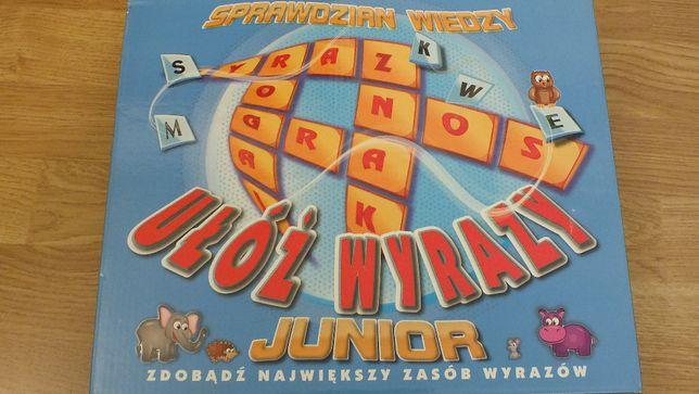 gra edukacyjna Ułóż wyraz Sprawdzian wiedzy junior scrable