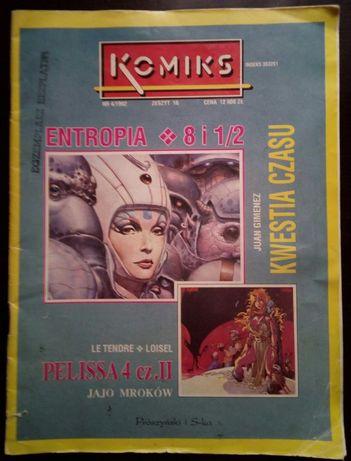 Komiks zeszyt 16 nr 4/1992 unikat