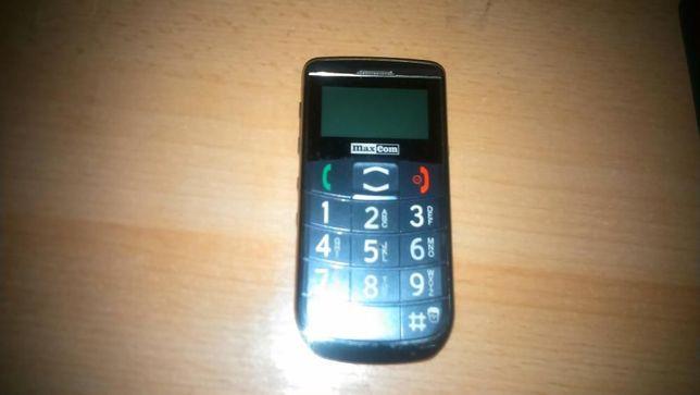 Telefon dla seniora Max Com (uszkodzony)