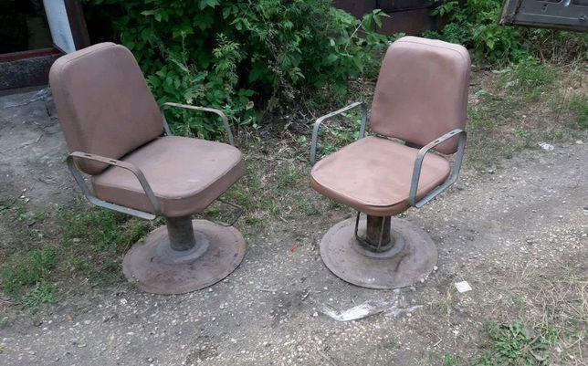 Кресло парикмахерской СССР