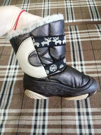 Зимние сапоги на мальчика Demar
