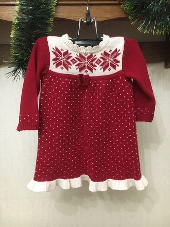 Новогоднее платье, зимнее платье