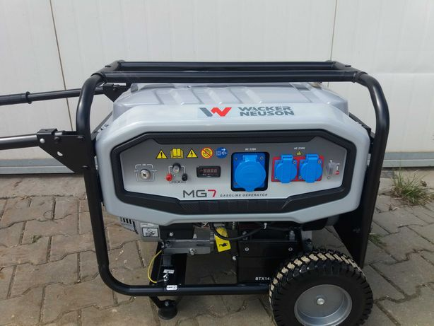 agregat prądotwórczy WECKER  7 KW WYPOŻYCZALNIA