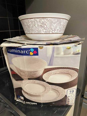Продам НОВЫЙ набор посуды Luminarc Moka Brown