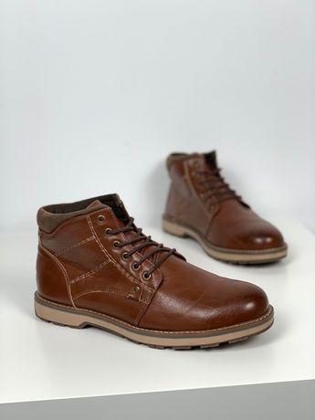 Туфли мужские ботинки 42 Beckett original закрытые коричневые