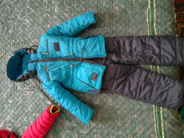 Комбинезон, курточка, зимняя курточка