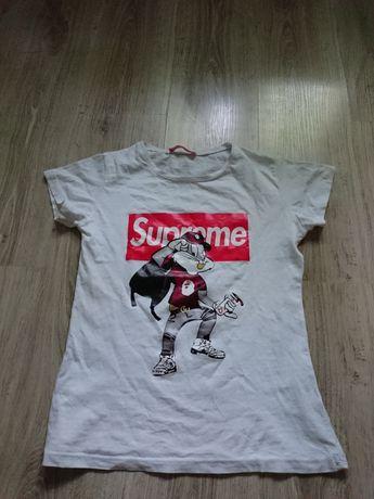 T-shirt Supreme dziecięcy